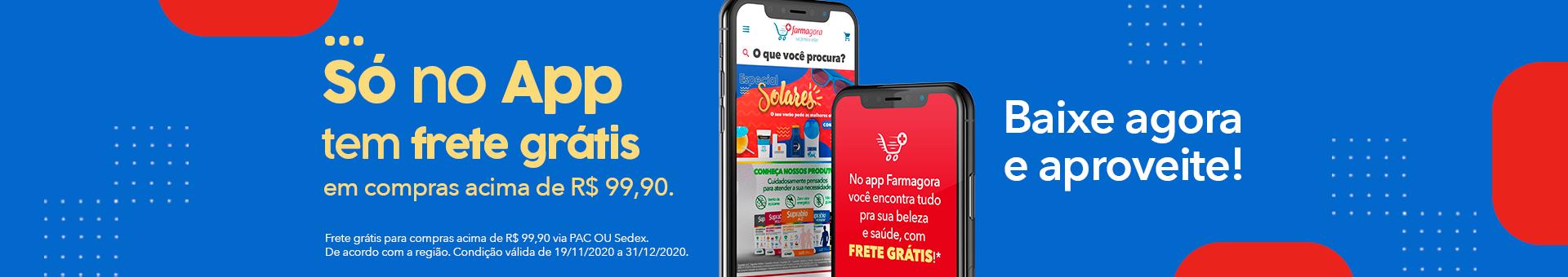 Banner - Frete Grátis no App