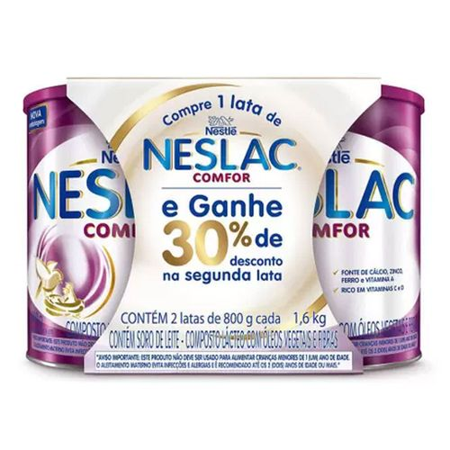 Neslac-Comfor-C-2x800gr-Composto-Lacteo-30--Promocional