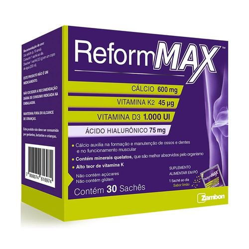 Reform-Max-Com-30-Saches-Limao