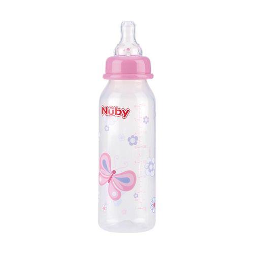Mamadeira-Nuby-Estampada-240ml-Rosa