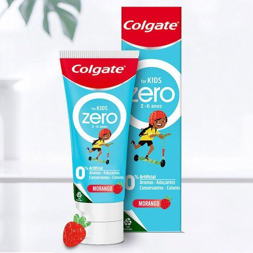 Gel-Dental-Colgate-Zero-70gr-Kids-Morango
