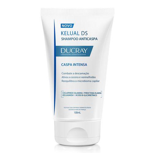 Shampoo-Kelual-Ds-Ducray-100ml-Anticaspa