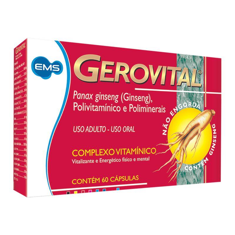 Gerovital-Com-60-Capsulas