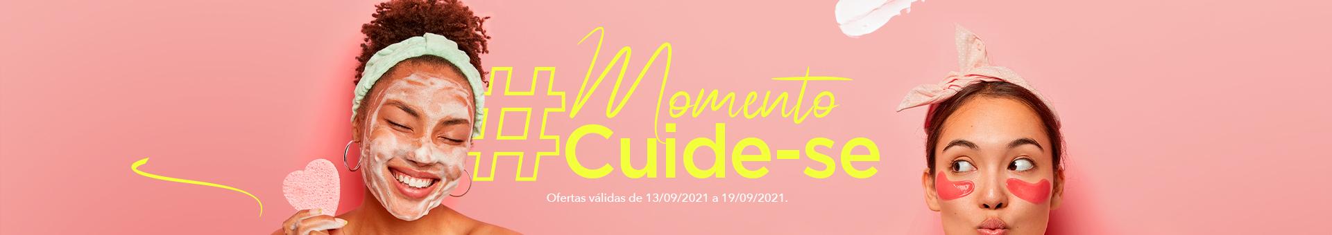 #momentocuide-se